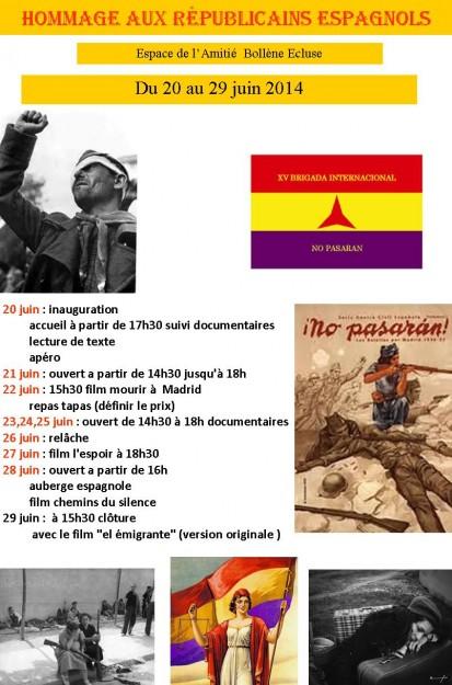 Bollène_répubicains_espagnols