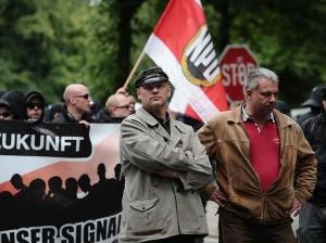 Wulff (à gauche) et Worch (à droite), lors du TddZ à Hambourg en 2012
