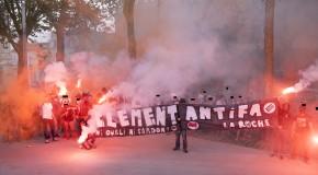 Poiré sur Vie (Vendée) : rassemblement anti-FN