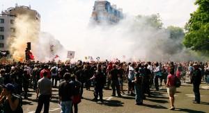 Manifestation en mémoire de Clément Méric, samedi 7 juin 2014 à Paris.