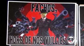 nantes : nouvel autocollant antifa