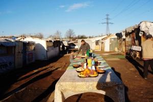 Le bidonville de la Folie à Grigny