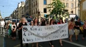 Nancy : halte au massacre en Palestine, à bas tous les racismes !