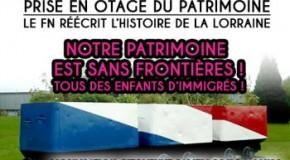 Hayange : manif contre la récupération nationaliste de la mémoire des mineurs