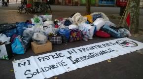 Nancy : soutien aux migrants de Calais !