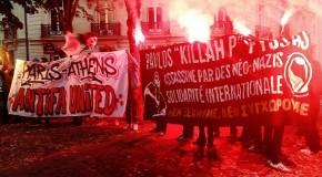 Paris : rassemblement en hommage à Pavlos Fyssas