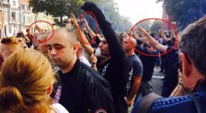 Calais : des néonazis dans la manif raciste