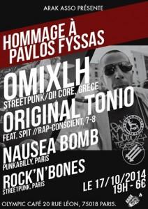 Concert Pavlos 17-10-2014