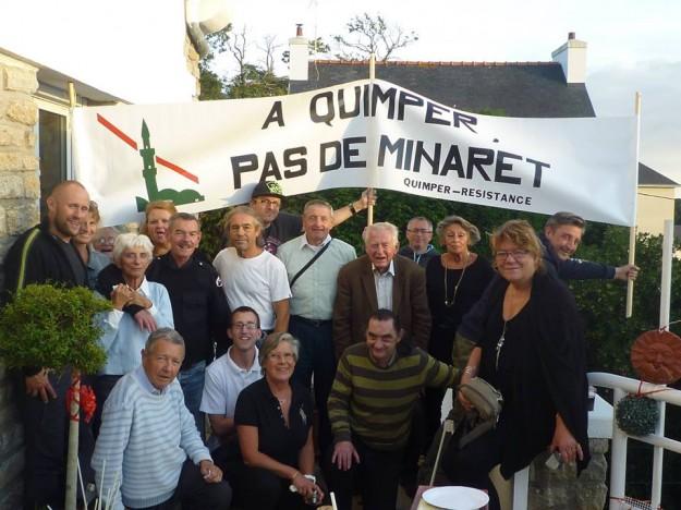 Quimper Résistance au grand complet : elle est belle, la France !