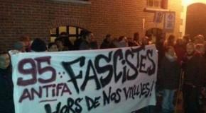 Val d'Oise : manif antifa, flics et fachos main dans la main