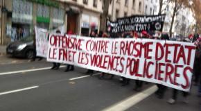 suite de la manif antifasciste du 29 novembre à Lyon