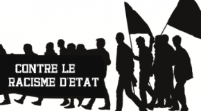 Lyon : Manif offensive contre le FN et le racisme d'Etat