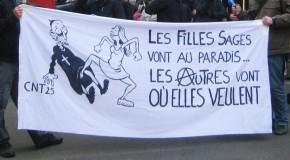 Besançon : mobilisation contre les anti-IVG de SOS Tout Petits