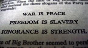 """Dieudonné : """"la guerre, c'est la paix"""""""