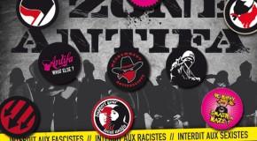 Matériel antifasciste à commander