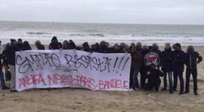 Calais : Une centaine d'antifascistes en solidarité avec les migrants