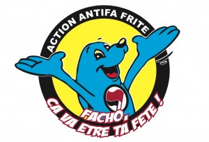 Action antifa Frite
