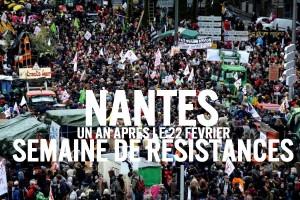 Nantes: semaine de résistances du 16 au 22 février 2015