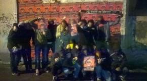 Pas-de-Calais : collage de l'Action antifasciste