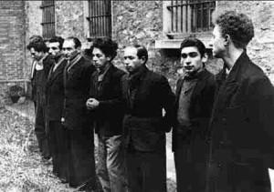 Le groupe Manouchian quelques heures avant son exécution.