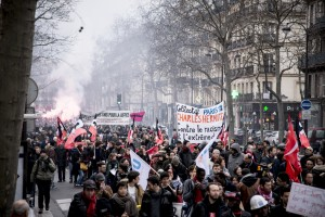 Manifestation contre le racisme à Paris.