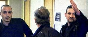 Bianciotto et Guichard à leur procès.