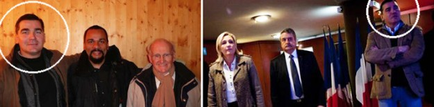 Chatillon, Faurisson, Le Pen