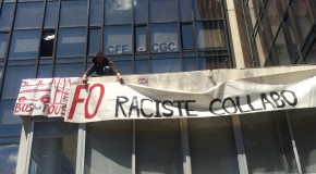 Montpellier : riposte antiraciste face à FO