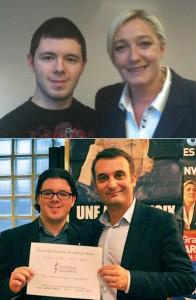 Despot avec Marine Le Pen et Florian Philippot : un petit jeune qui promettait, mais à qui il aurait fallu dire de ne pas jouer avec des allumettes…