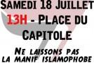 Toulouse : rassemblement antifasciste face à l'UCODEL et les islamophobes