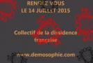 Démosophie et mouvement du 14 juillet 2015 : le business d'une secte