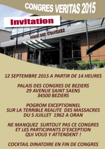 congrès Veritas Beziers 2015