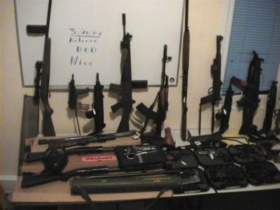 Claude Hermant, ancien du service d'ordre du FN ; en détention pour avoir fourni des armes aux terroristes français de DAESH