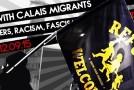 Dover : solidarité avec les migrants de Calais, contre les frontières, le racisme et le fascisme
