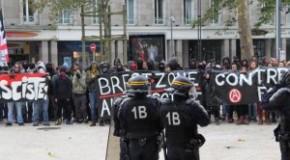 Brest : Retour sur la contre manif antifa du 10 octobre