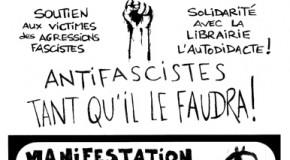 Besançon : ne laissons pas les fascistes s'installer dans nos vi(ll)es