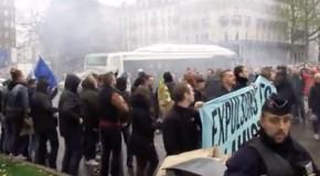 Lille : les identitaires expulsés de la manif (vidéo)