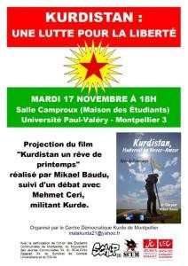 Kurdistan-projection-montpellier