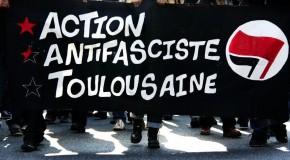 Toulouse : Rassemblement contre le meeting de campagne du FN