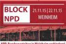 Allemagne : Block NPD 2015 !