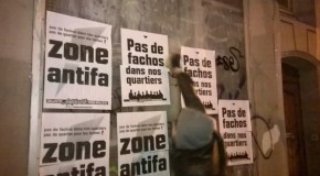 Paris : action contre un local du FN