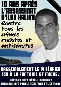 Paris : hommage à Ilan Halimi @ Paris | Île-de-France | France