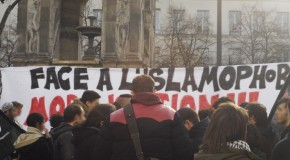 Paris : photos du rassemblement contre l'islamophobie
