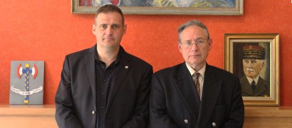 Yvan Benedetti et André Gandillon