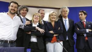 Marine Le Pen et ses amis européens