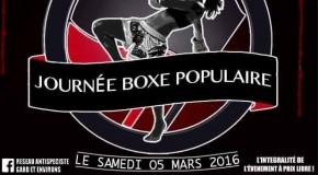Journée Boxe Populaire le 5 mars 2016 à Avignon