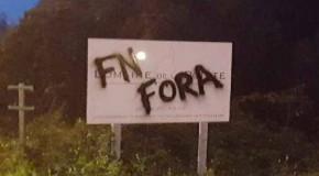 Corse : actions antifascistes contre le FN à Ajaccio
