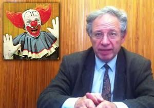 Toute ressemblance entre Gandillon et Bozo le clown est purement fortuite…
