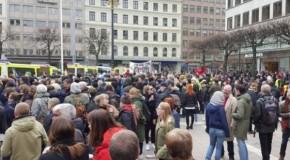 Suède : contre-manif antifa réussie à Stockholm