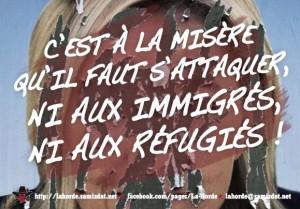 Fougères : manifestation anti-FN en solidarité avec les migrants @ Fougères | Bretagne | France
